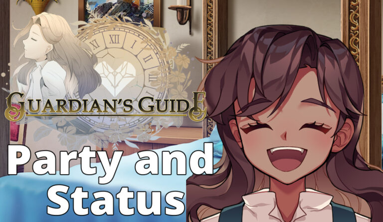 Guardian's Guide Dev Blog 4: Party and Status